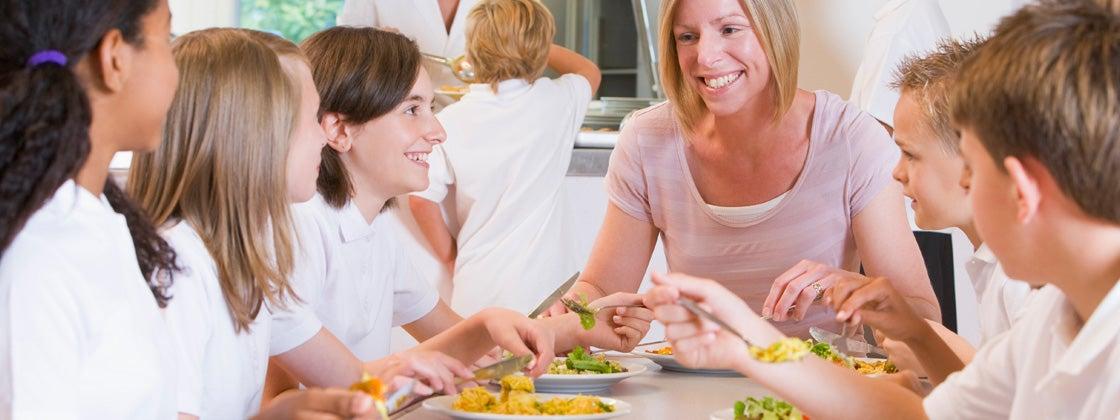 Enséñales a tus alumnos la importancia de comer bien