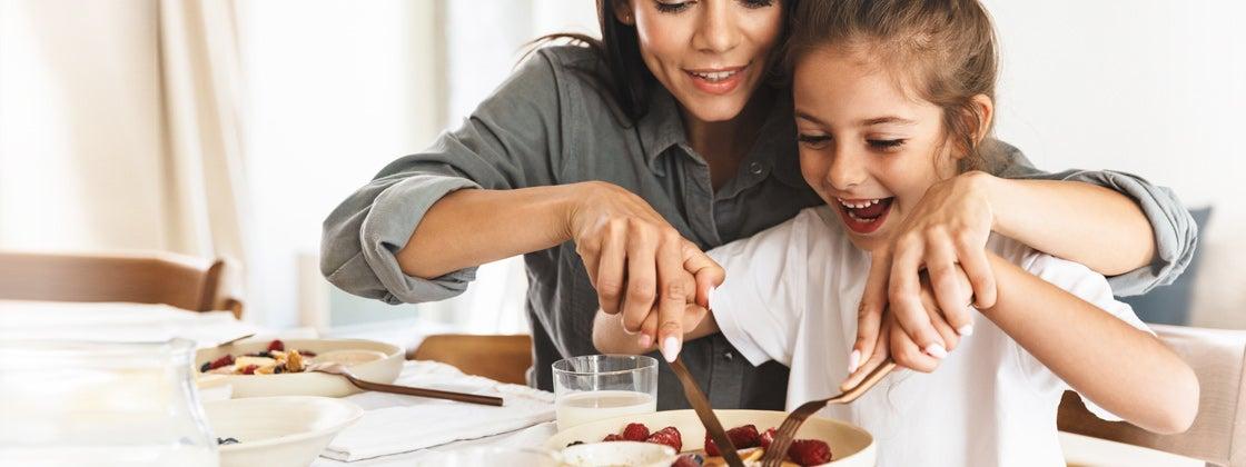 Comer sano y compartir en familia