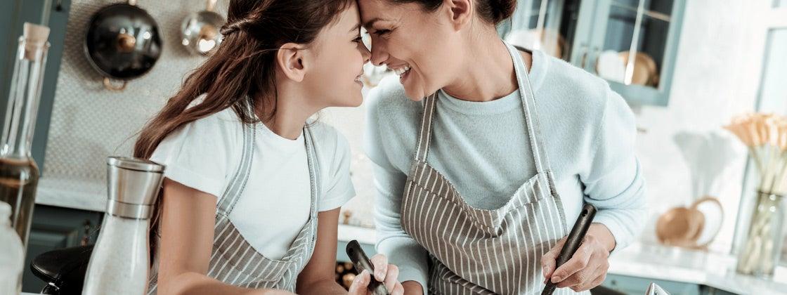 Cocina y comparte con tus hijos