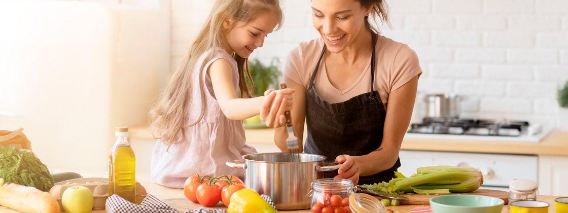 Comparte con tus hijos una alimentación saludable